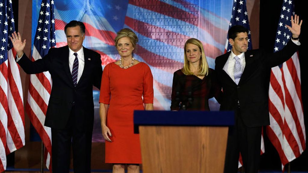 Romney y su vicepresidente, Paul Ryan, agradecen el apoyo