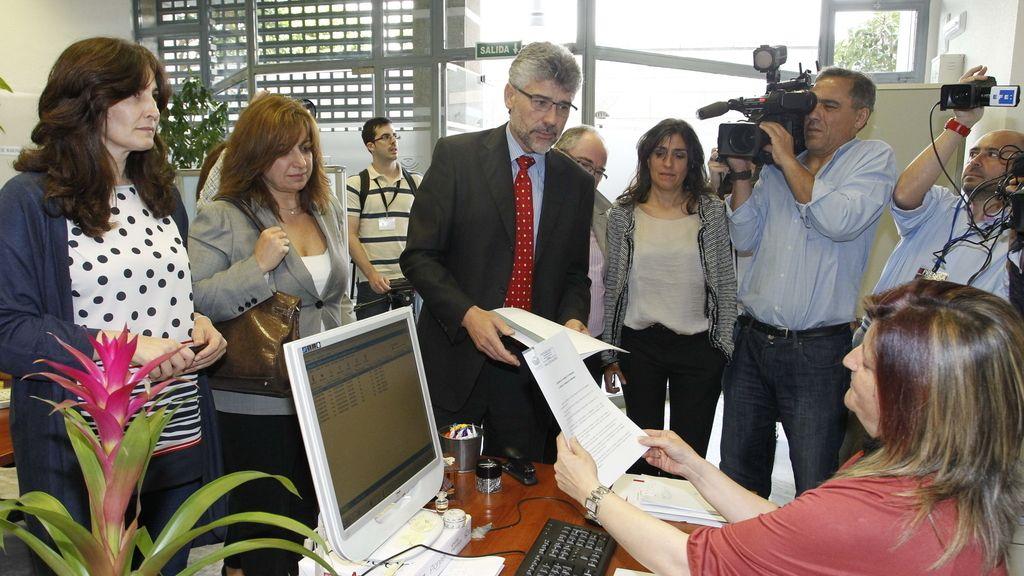 El PSOE de Extremadura presenta una moción de censua contra José Antonio Monago