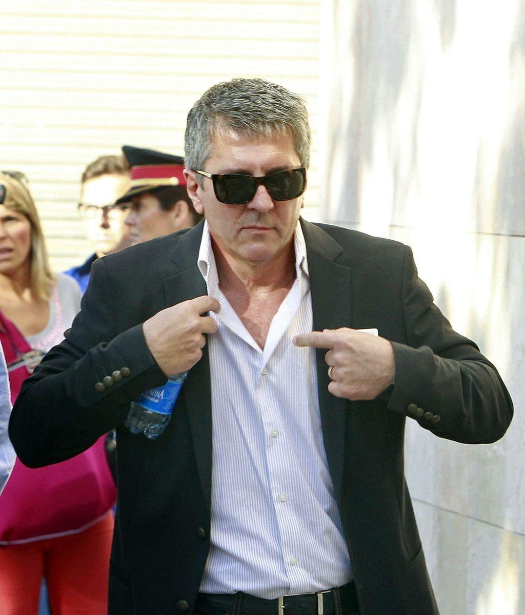Jorge Messi llega a los juzgados