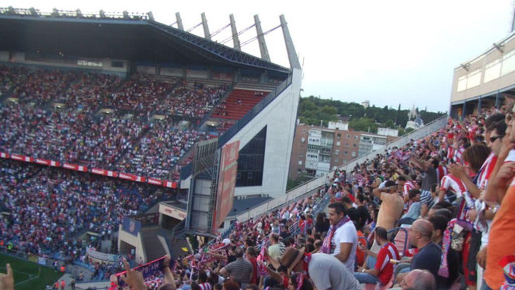 La afición del Atlético