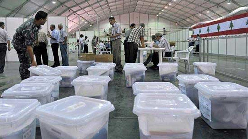 Elecciones parlamentarias en Líbano
