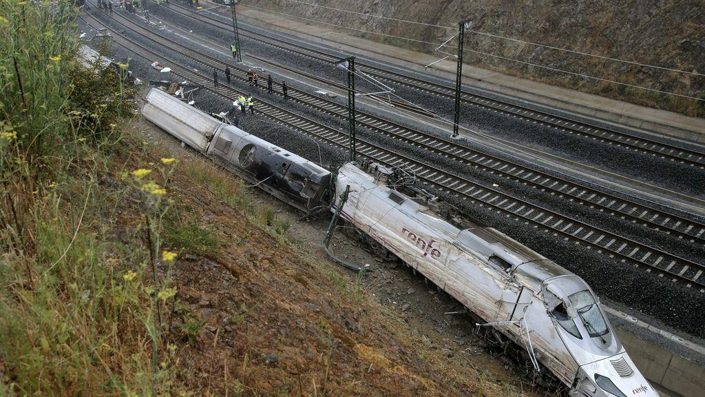 Tragedia ferroviaria en Santiago de Compostela