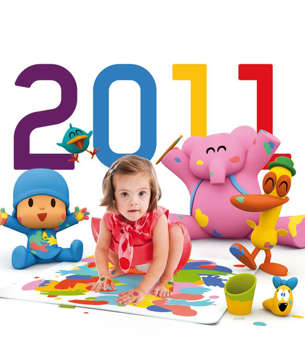 Todas las fotos del calendario de la Fundación Talita
