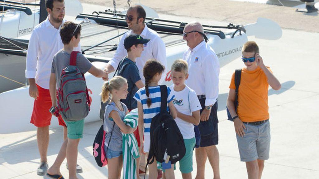 En Mallorca, a lecciones de vela