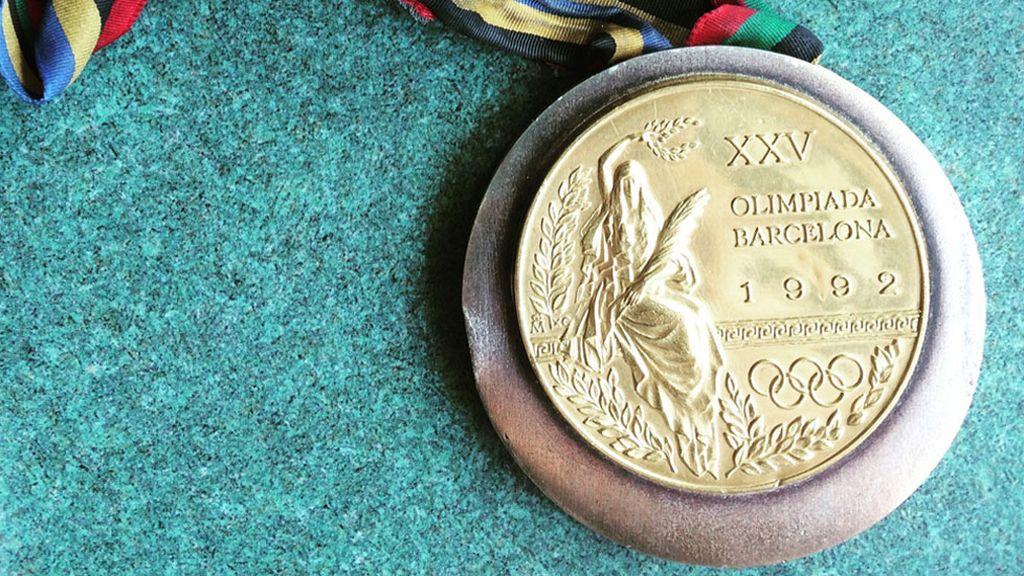 Roban una medalla olímpica de Barcelona 92 (09/06/2016)