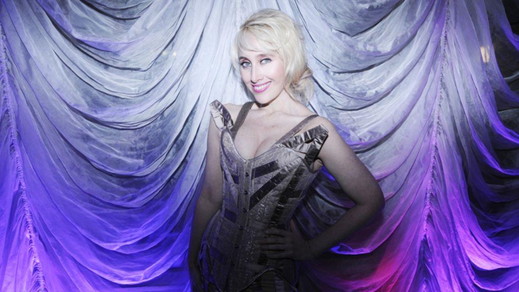 """La cantante Innocence, que acaba de presentar su nuevo single """"Houdini girl"""""""