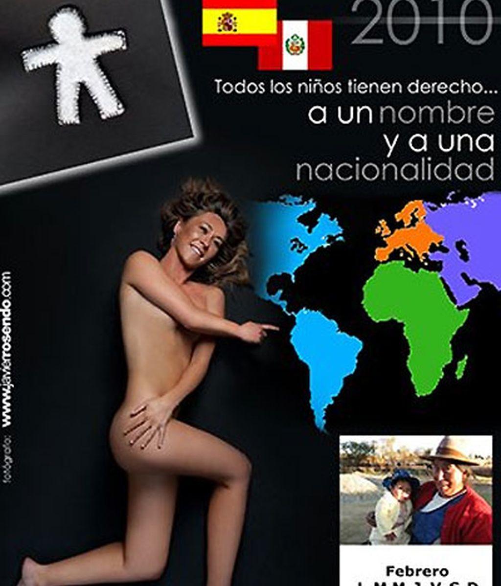 Maestras cántabras se desnudan por los niños de Perú