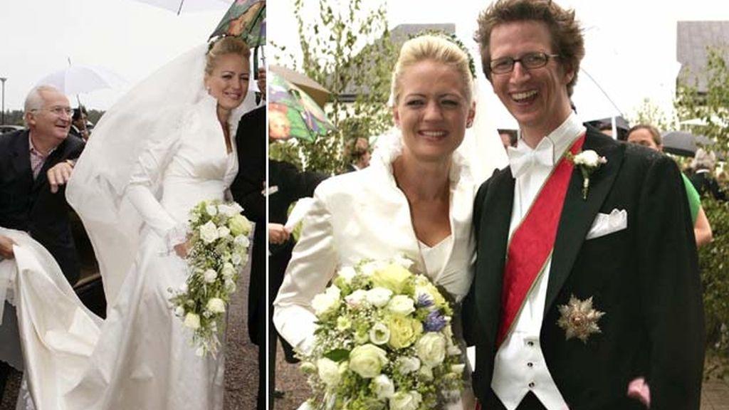 05-08-2005 Princesa Anna de Sayn y el príncipe Manuel de Baviera