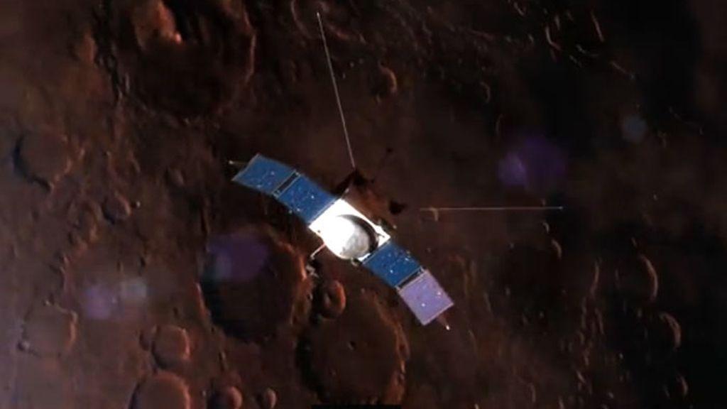 sonda Maven, NASA, Marte, órbita de Marte, planeta rojo