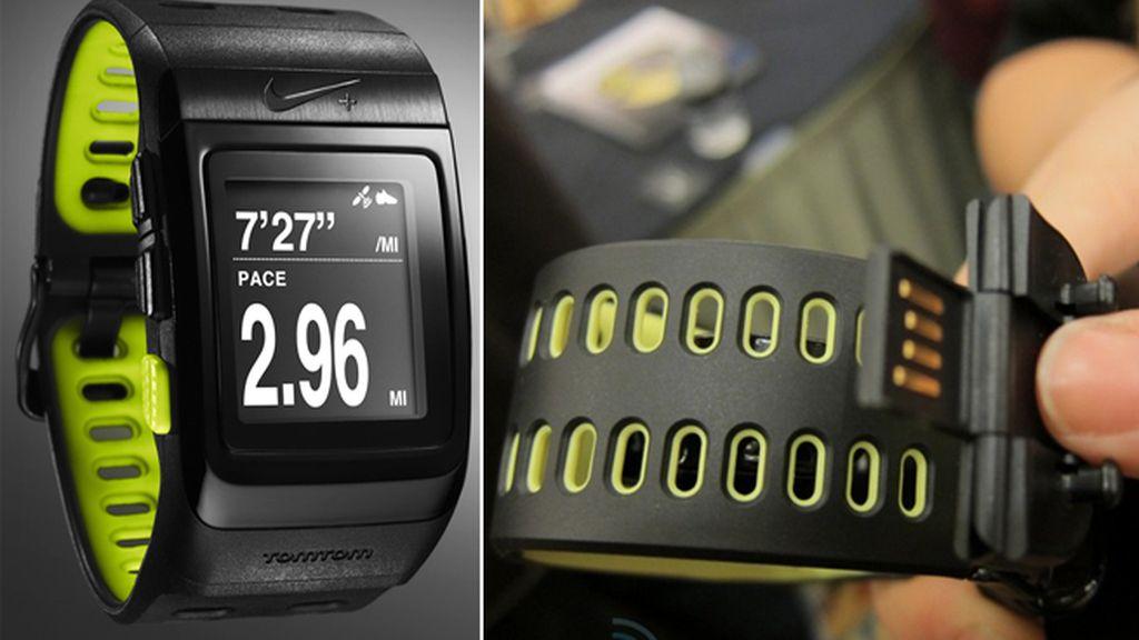 Nike+ SportWatch GPS sale al mercado de la alianza entre el fabricante deportivo y TomTom. Foto Engadget.com