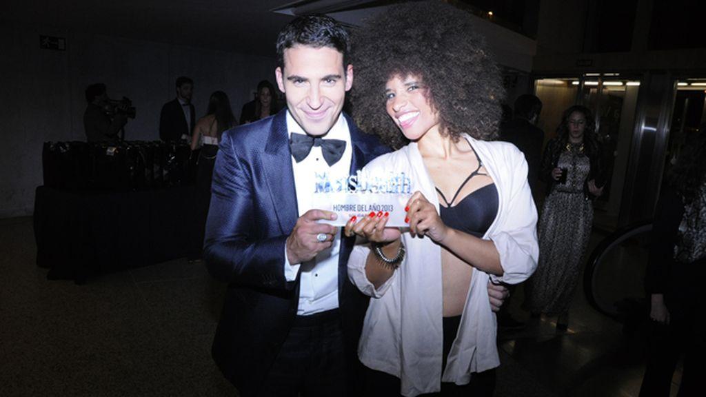 Miguel Ángel Silvestre junto a Lesley Salazar