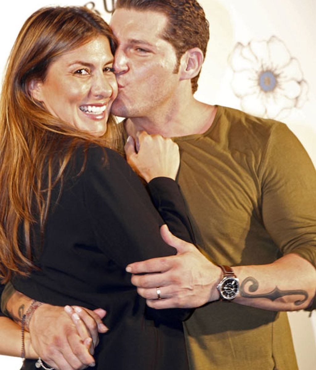 Manu Tenorio y Silvia Casas, un matrimonio muy cómplice