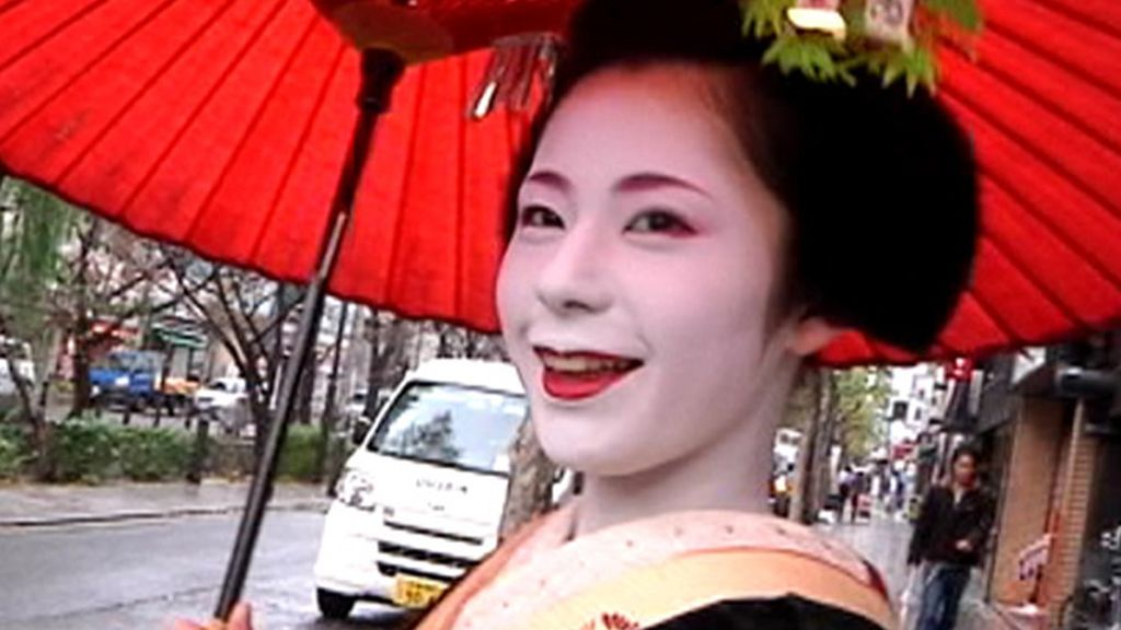 Toda una geisha