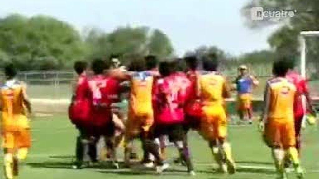Una expulsión a 7 segundos del inicio de partido