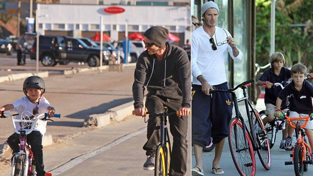 Beckham y sus otros deportes