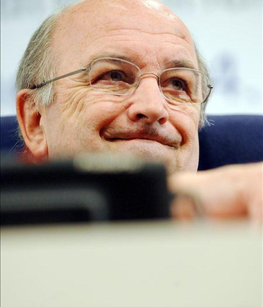 El comisario de Asuntos Económicos y Monetarios de la Unión Europea, Joaquín Almunia. EFE/Archivo