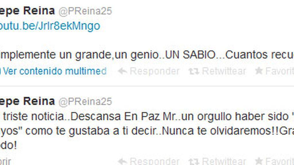 Tuit Pepe Reina