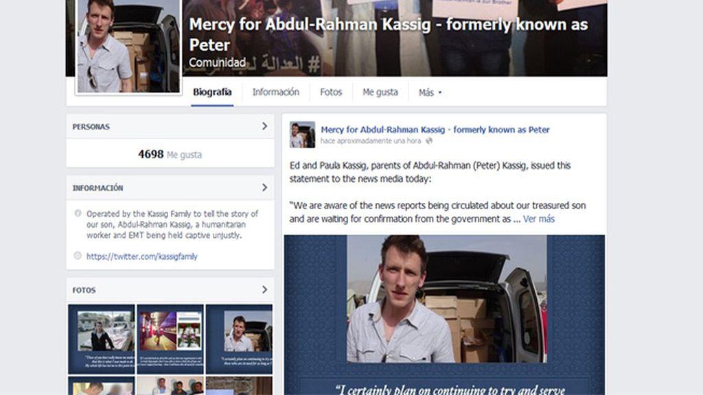 Los padres de Kassig piden a los medios que no difundan fotos o vídeo de la ejecución de su hijo