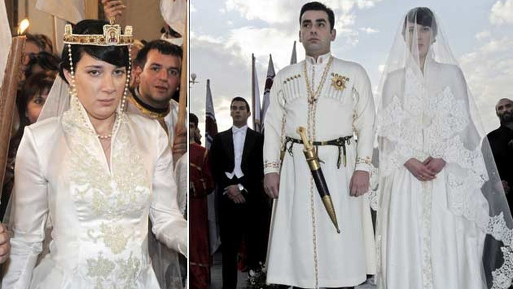 08-02-2009 Anna Bragationi y el príncipe David Bragationi/ Tiflis (Georgia)