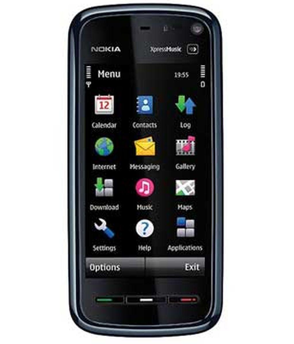 El nuevo terminal '5800 XpressMusic' de Nokia.