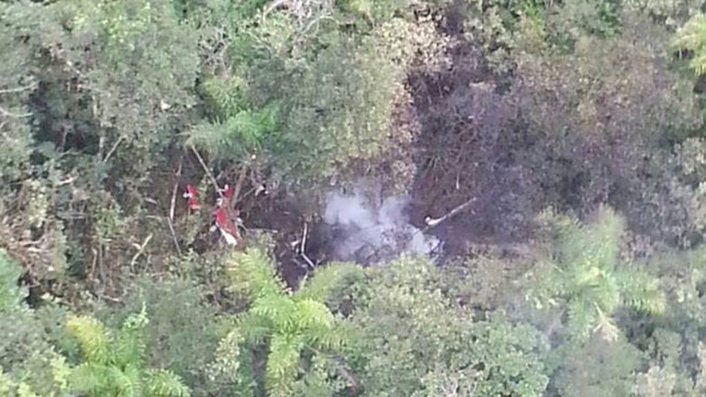 Cinco muertos al estrellarse un helicóptero en Sao Paulo