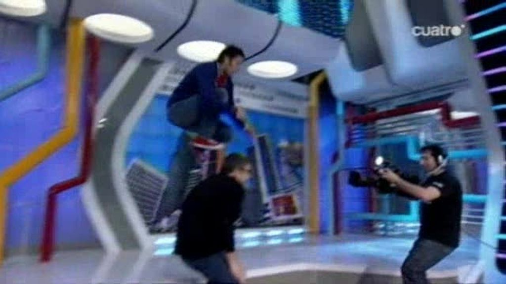 El salto bomba de Dani Martínez