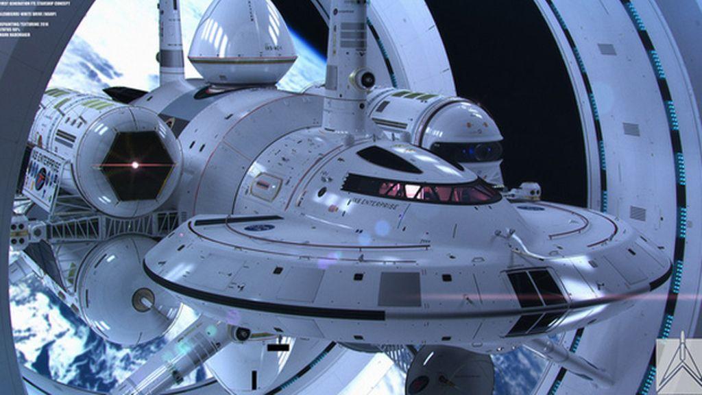 La NASA diseña una nave para los viajes interestelares al estilo 'Star Trek'