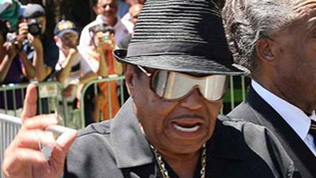 Imagen de archivo del padre de Michael Jackson, Joe Jackson. Foto: EFE.