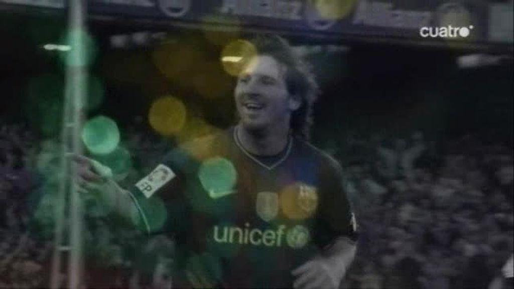10 años de Messi en Barcelona