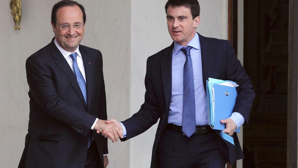 Valls se reúne con Hollande