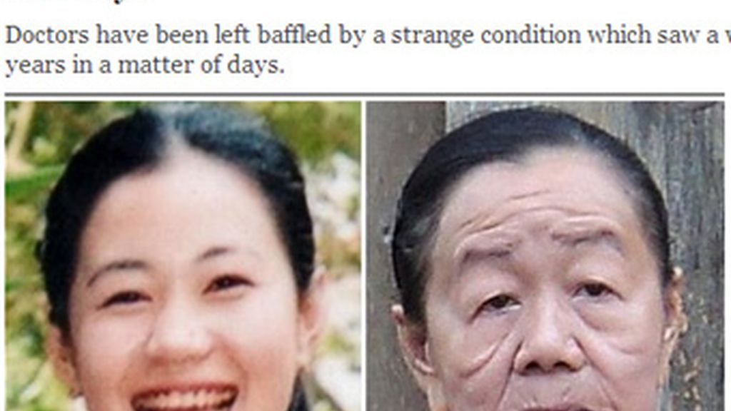 La mujer de la izquierda con 21 años es la misma que la de la derecha con una diferencia de solo cuatro años.