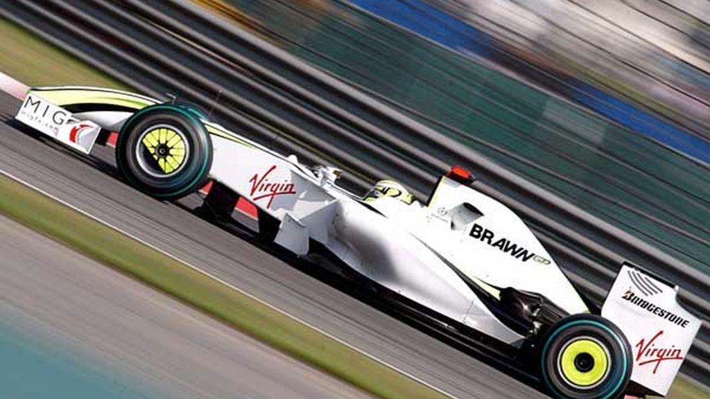 Button, en la tercera sesión de entrenamientos