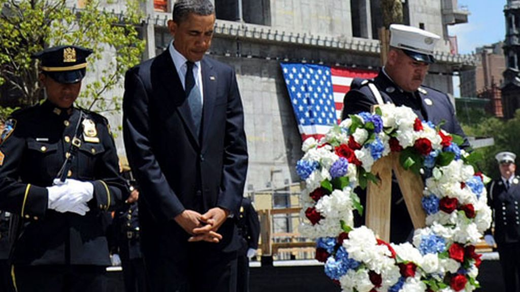 Barack Obama, en la 'Zona Cero' de Nueva York