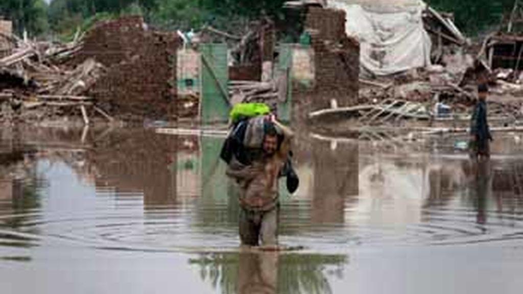 Terribles inundaciones en Pakistán