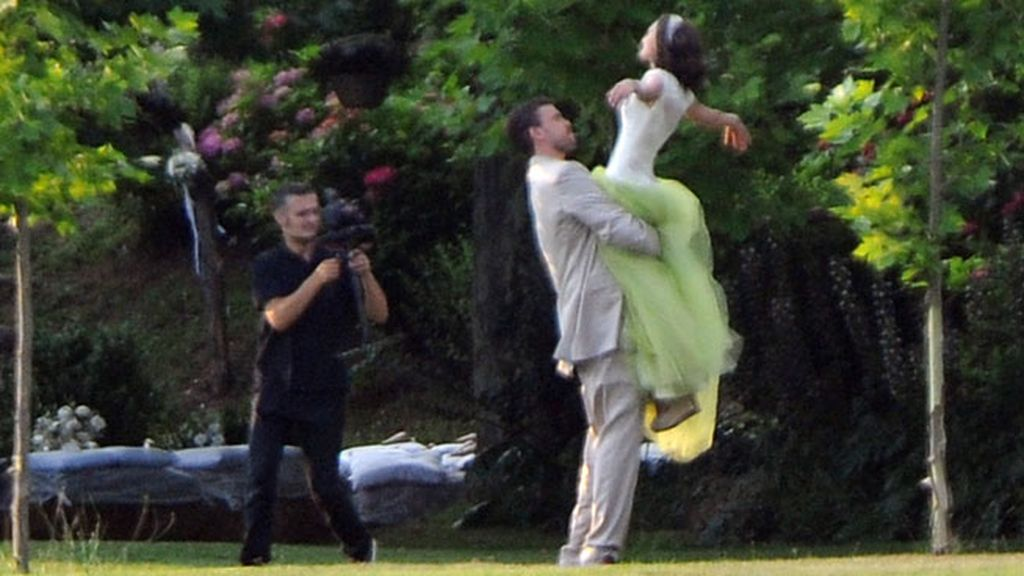 Cristina Blesa y Marc Gasol se casan tras seis años de noviazgo
