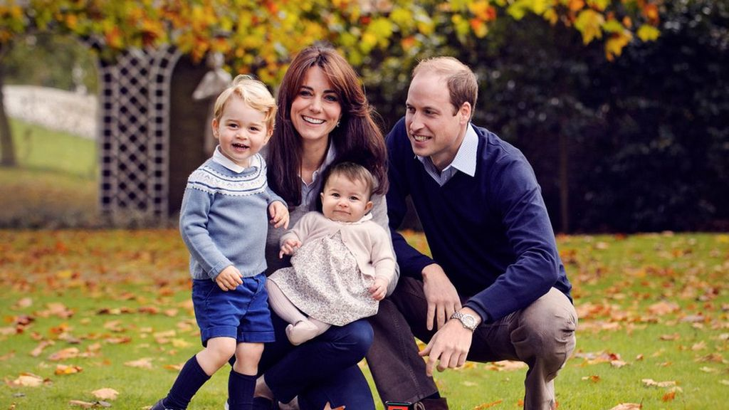 Los duques de Cambridge celebran la primera Navidad con la pequeña Carlota
