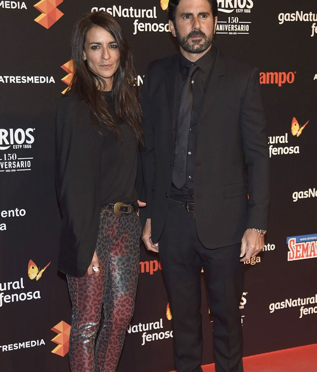 La cantante Bebe y Hernán Zin