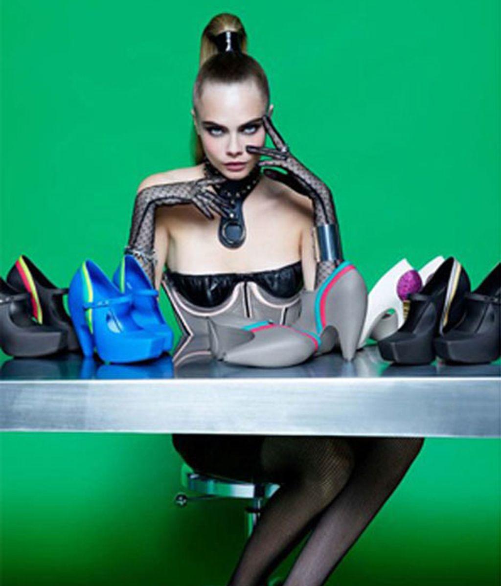 Cara Delevingne, la favorita de Lagerfeld