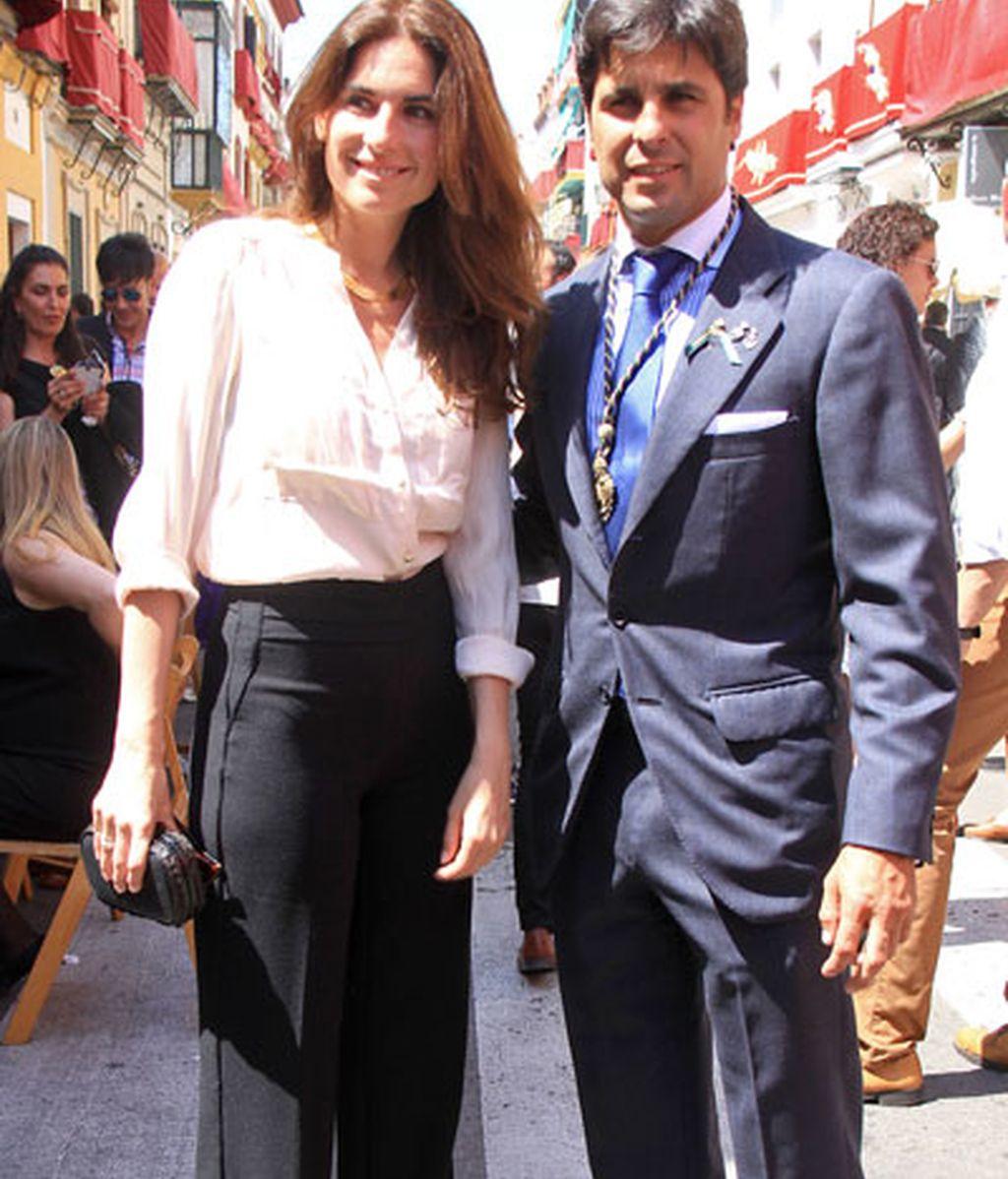 Fran Rivera y Lourdes, pasión compartida en Sevilla