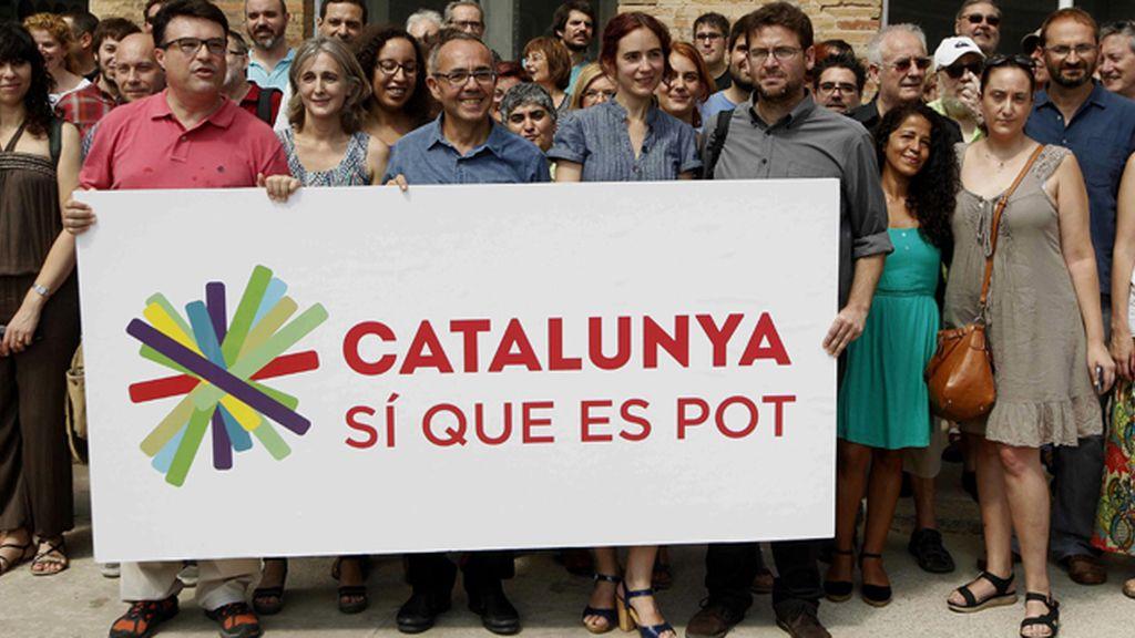 """'Cataluña, sí se puede' se define como la lista """"de las clases populares"""" contra los recortes"""