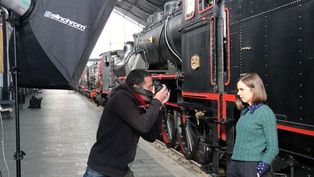 Trenes, cómics, cámara... ¡acción!