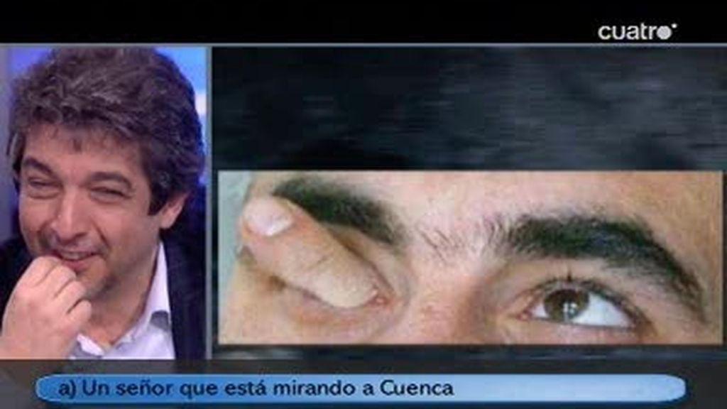 Trancas y Barrancas retan a Ricardo Darín a adivinar ciertas fotografías