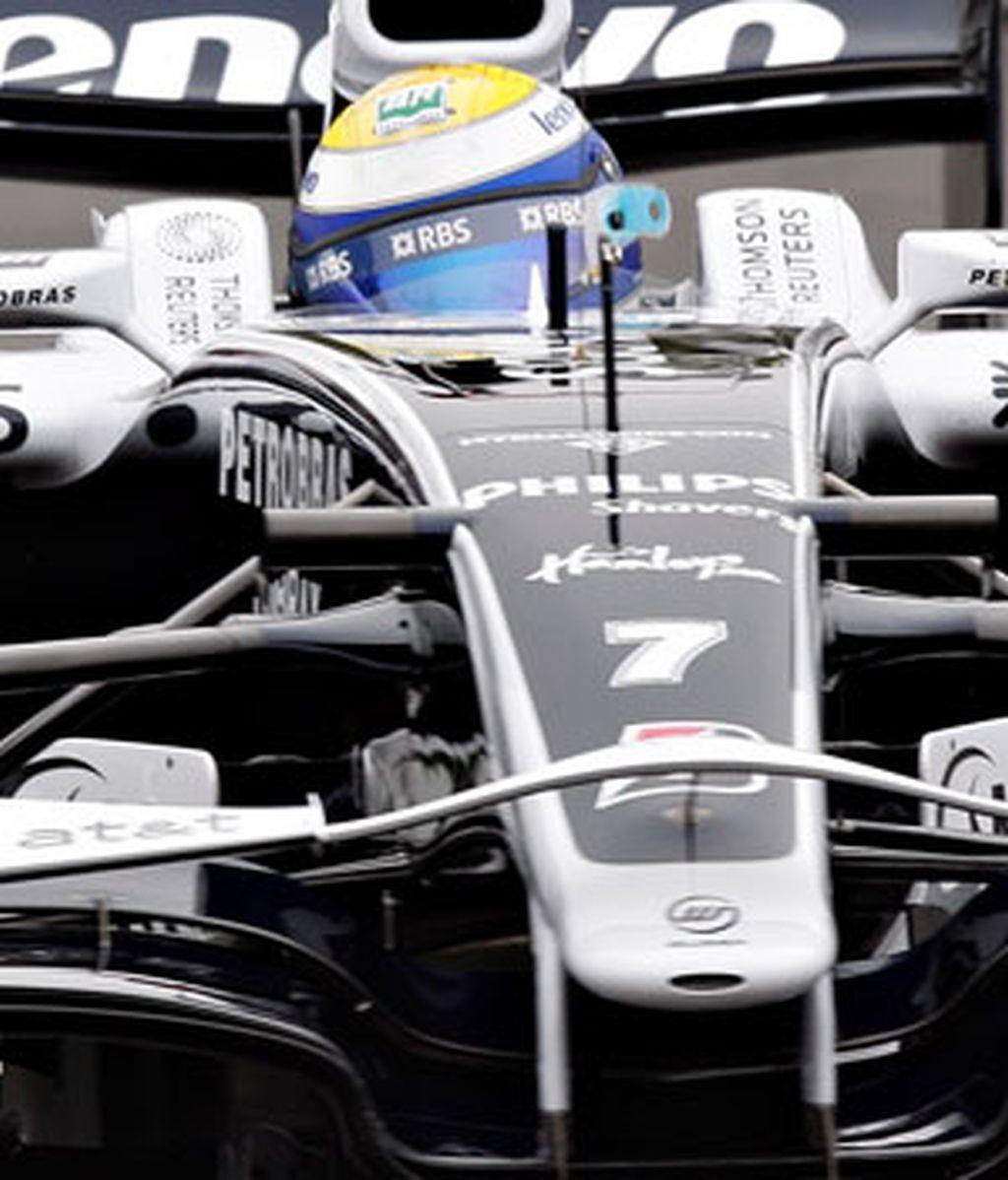 Nico Rosberg, en Canadá. Foto: AP