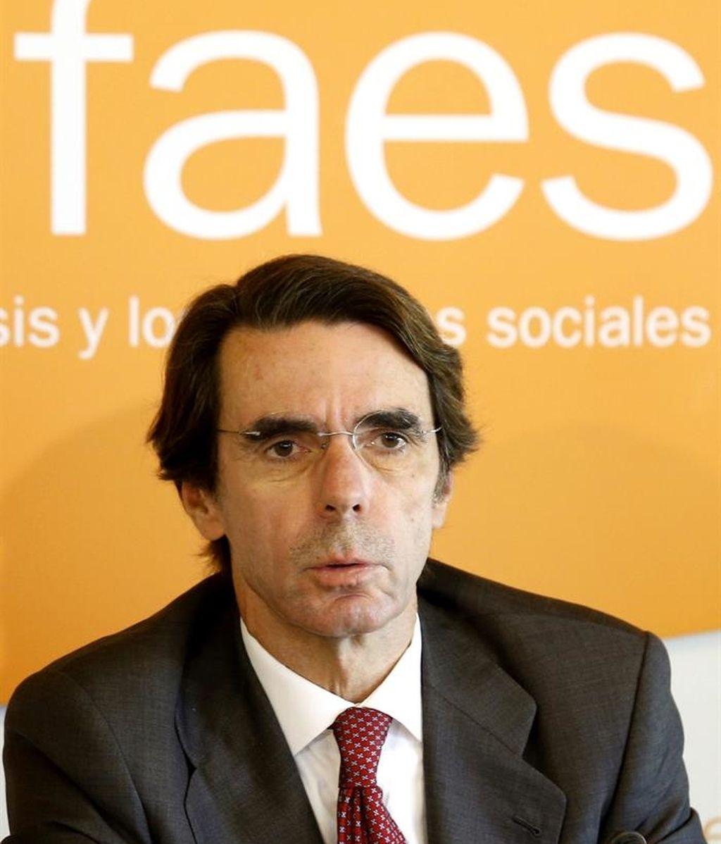 José María Aznar,presidente de FAES