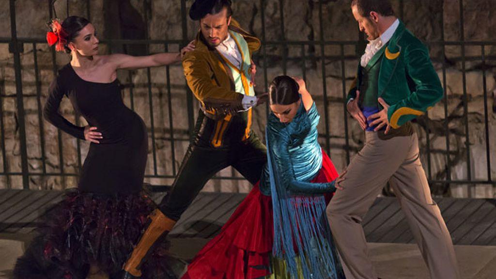"""Bailaores de flamenco españoles se presentan con """"Dressed to Dance"""" en Jerusalén"""