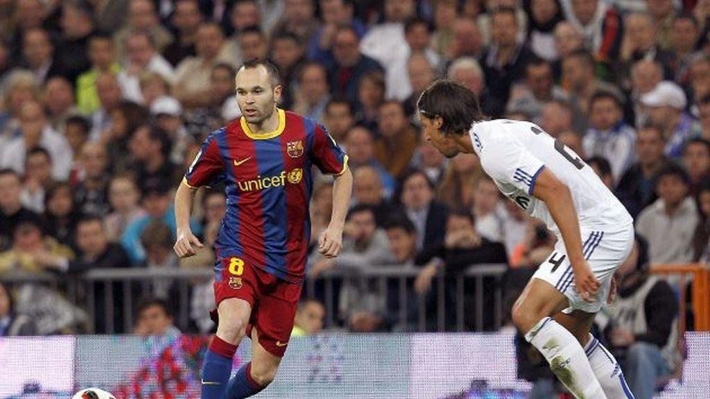 R. Madrid-Barça: primer asalto