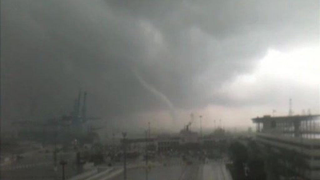Así vivieron el tornado