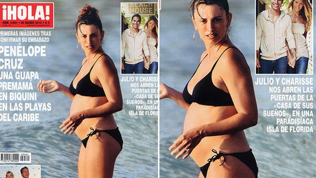 Penelope Cruz, embarazada de su segundo hijo