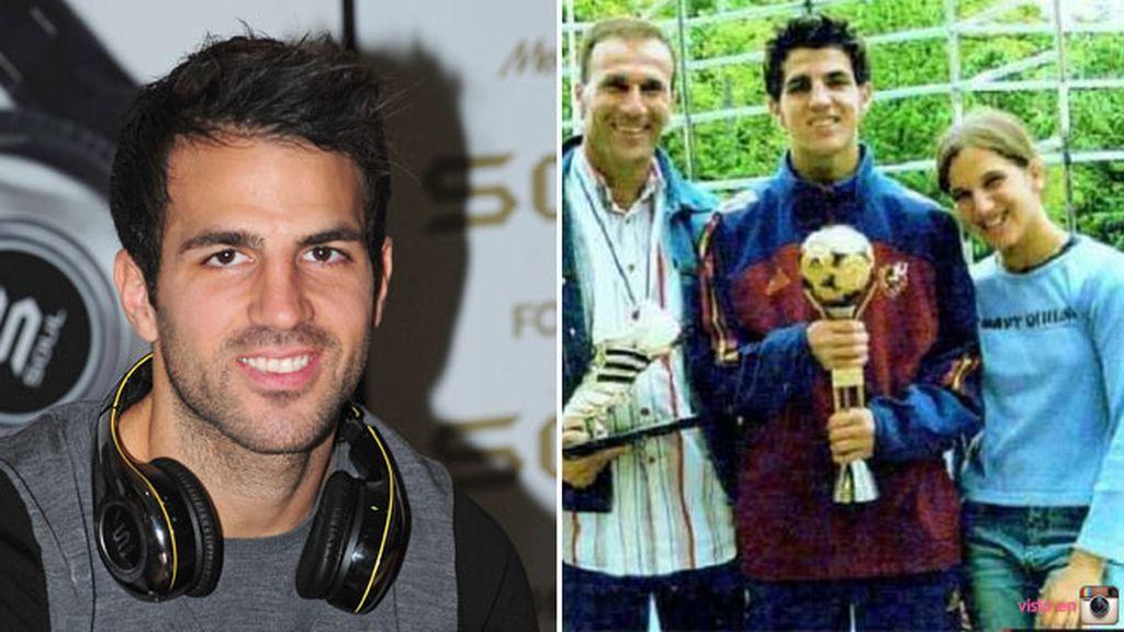 Cesc Fábregas agradece a su padre el apoyo que le brinda siempre