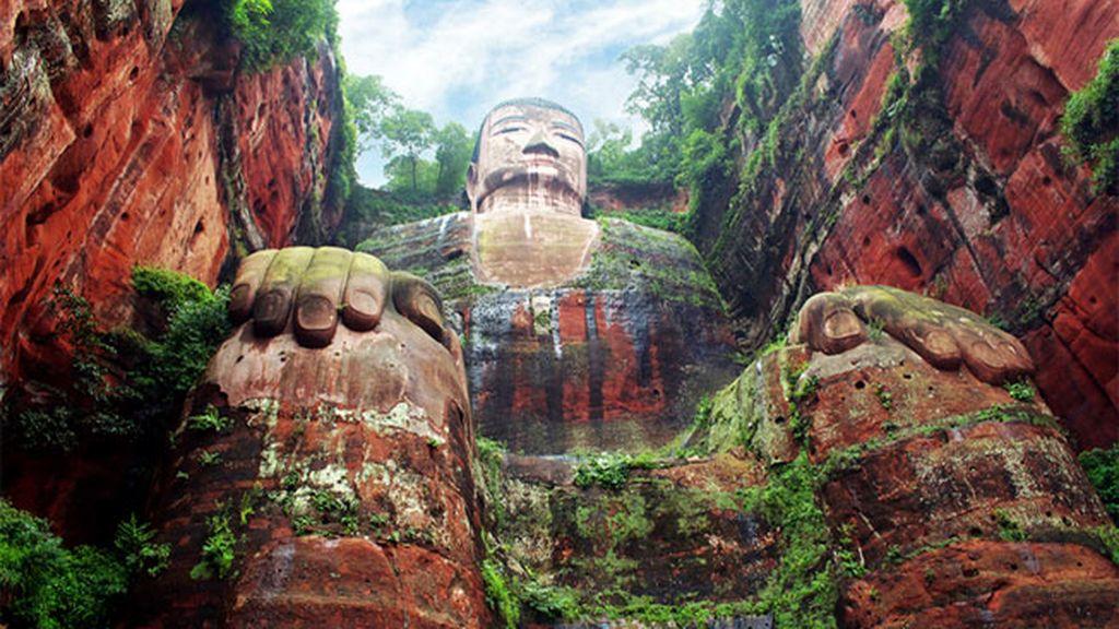 Budda gigante, Leshan, China